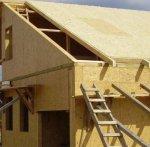 Варіанти конструкції звисів даху Деревяні будинки, будівництво деревяного будинку, деревяні двері та вікна